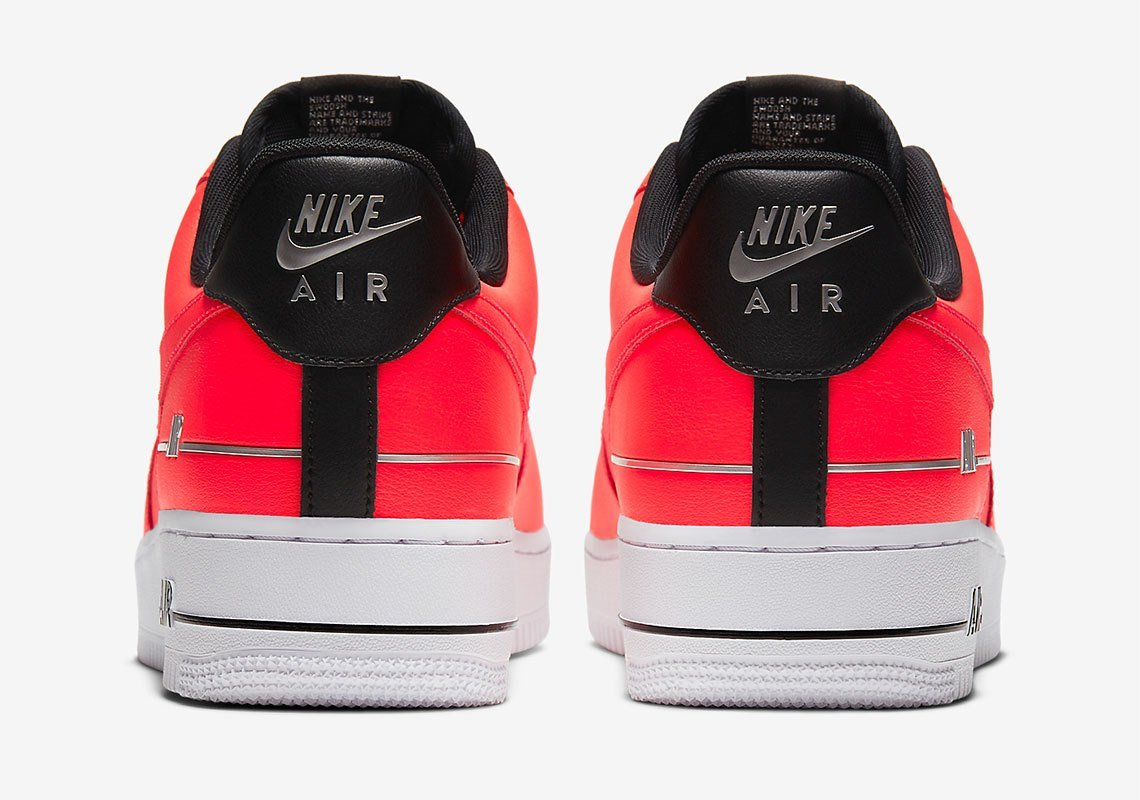 Nike Air Force 1 Double Air Red CJ1379-600 Release Date Info