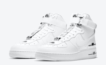 Nike Air Force 1 High White Black CJ1385-100 Release Date Info
