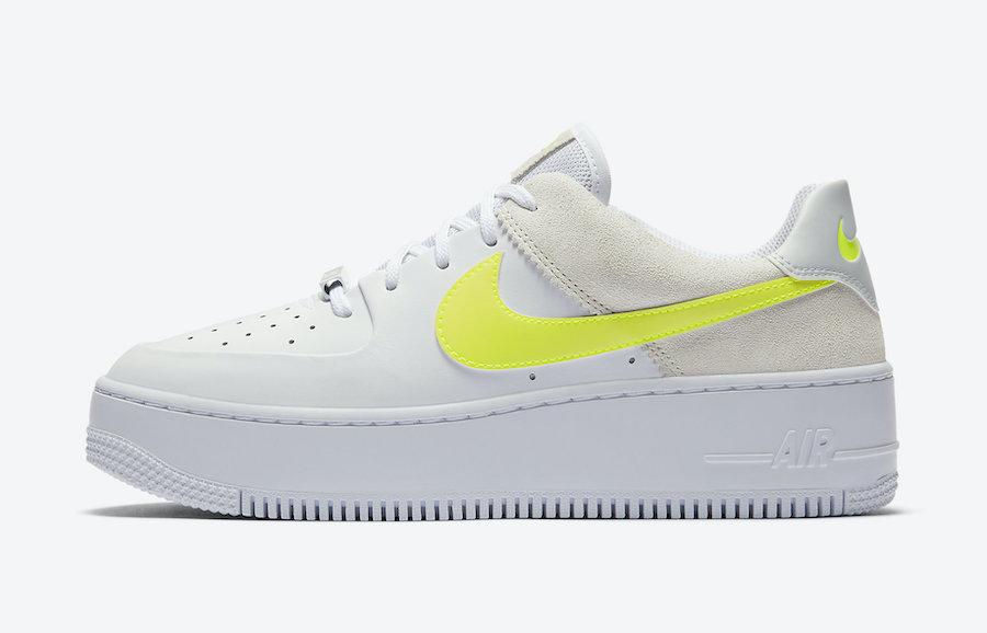 Nike Air Force 1 Low Lemon Venom CW2652-100 Release Date Info