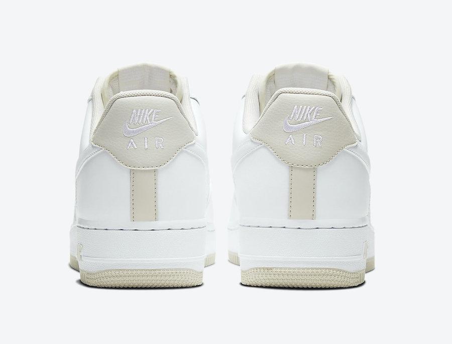 Nike Air Force 1 Low Light Bone CJ1380-101 Release Date Info