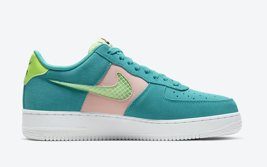 Nike Air Force 1 Low Oracle Aqua CK4383-300 Release Date Info