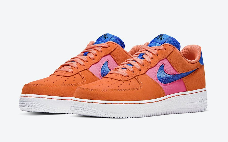 Nike Air Force 1 Low Orange Trance CW7300-800 Release Date Info