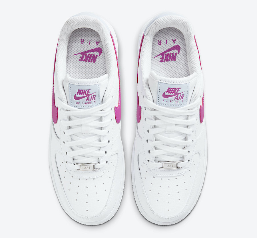 Nike Air Force 1 Low White Pink CT4328-101 Release Date Info