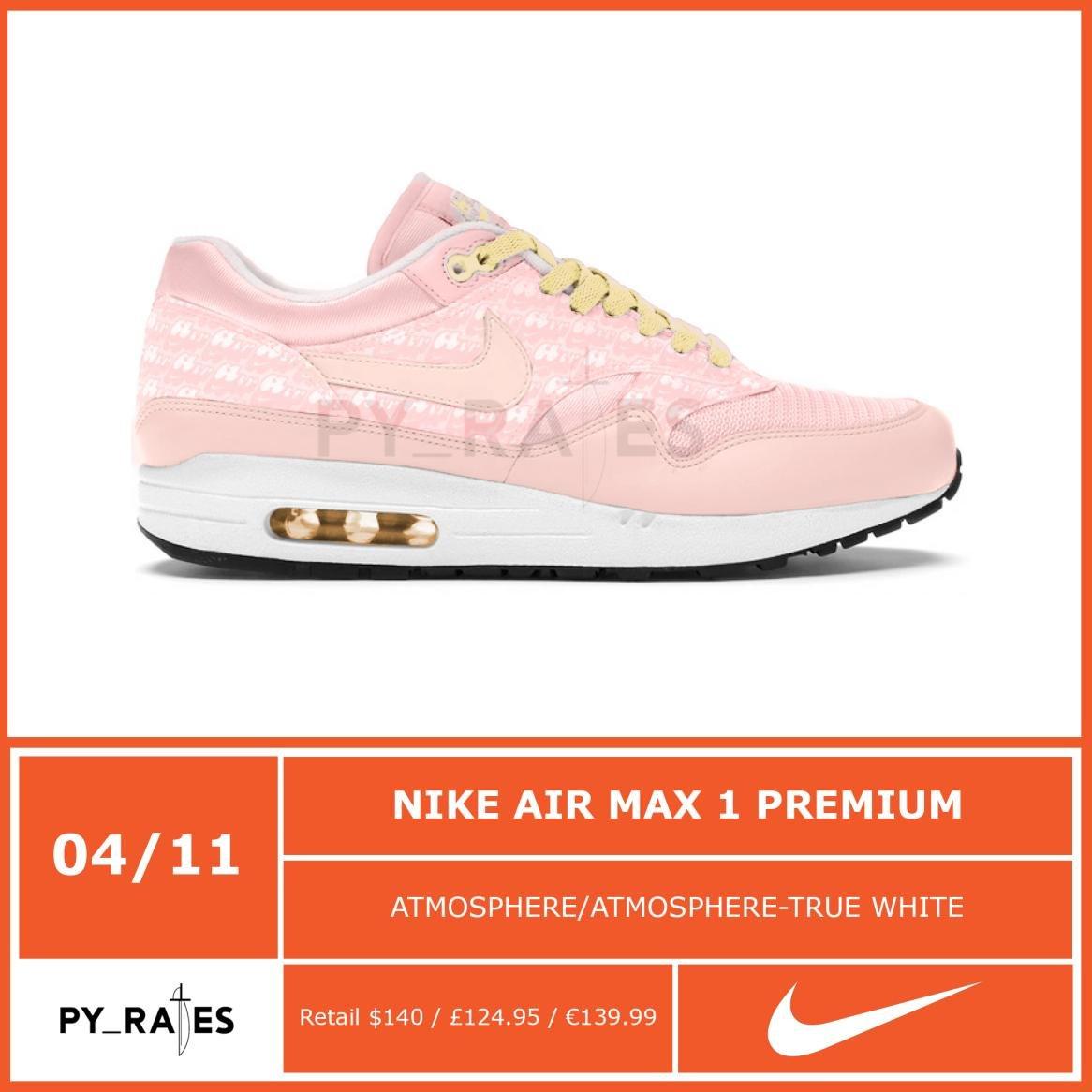Nike Air Max 1 Pink Lemonade Release Date