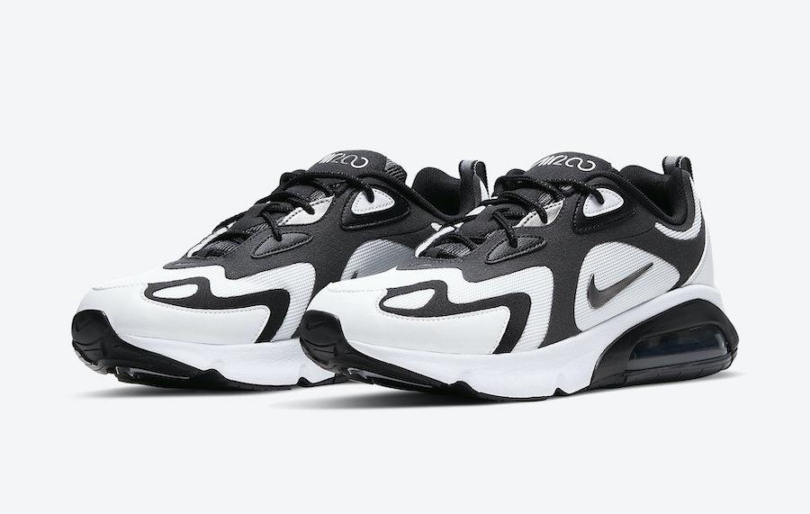 Nike Air Max 200 Dark Smoke Grey CT1262-100 Release Date Info