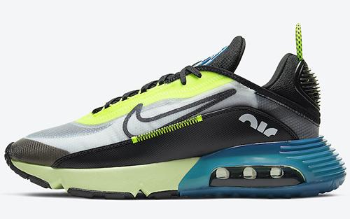 Nike Air Max 2090 Black Volt Blue Force Release Date