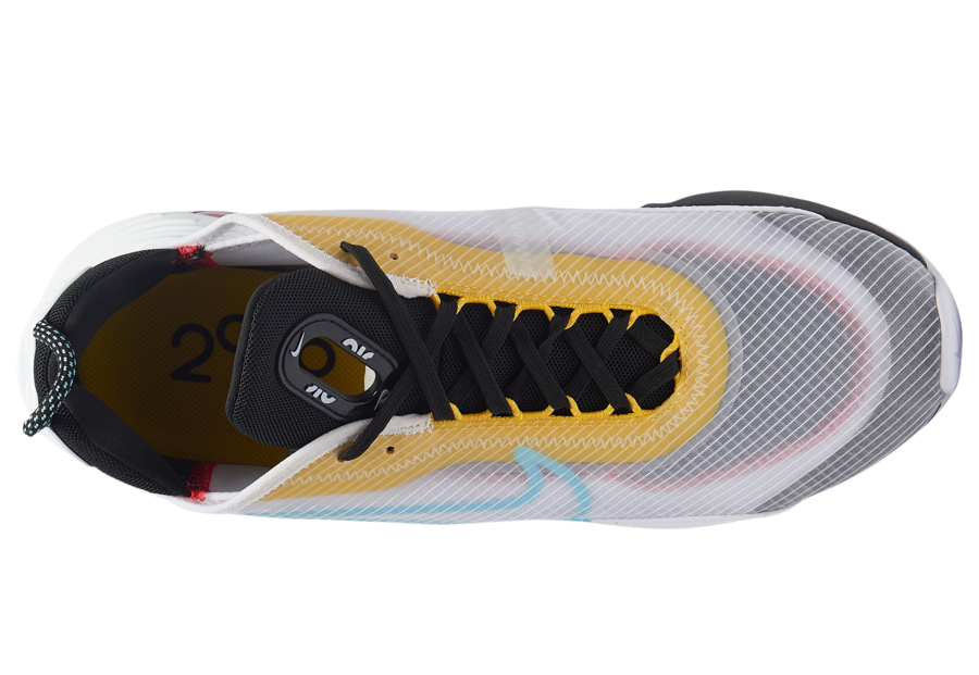 Nike Air Max 2090 White Blue Yellow Red Black CT1091-100 Release Date Info