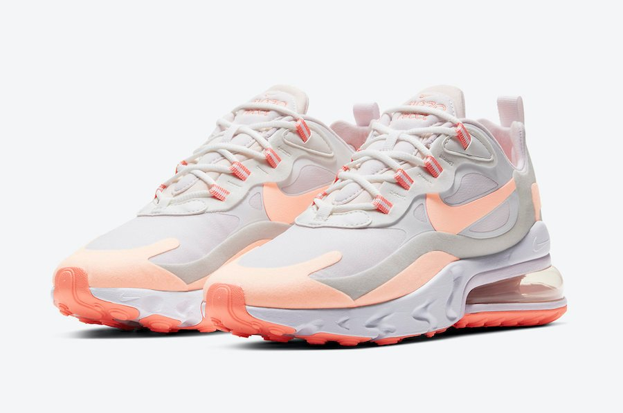 Nike Air Max 270 React Releasing in 'Crimson Tint'