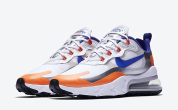 Nike Air Max 270 React Knicks CW3094-100 Release Date Info