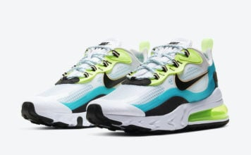 Nike Air Max 270 React Oracle Aqua CT1265-300 Release Date Info