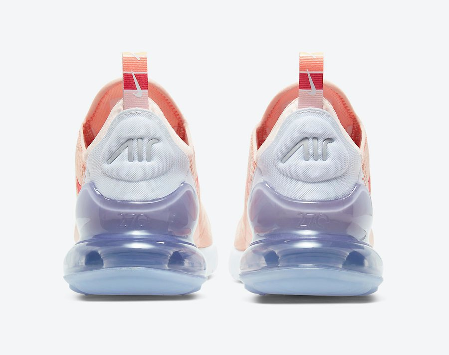 Nike Air Max 270 Washed Coral CW5589-600 Release Date Info