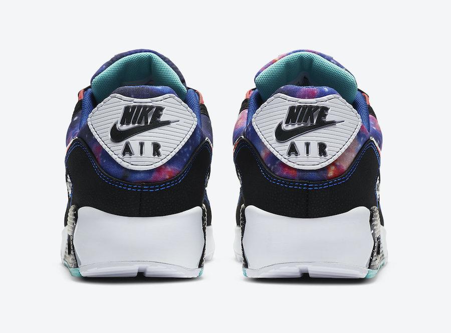 Nike Air Max 90 Supernova Galaxy CW6018-001 Release Date