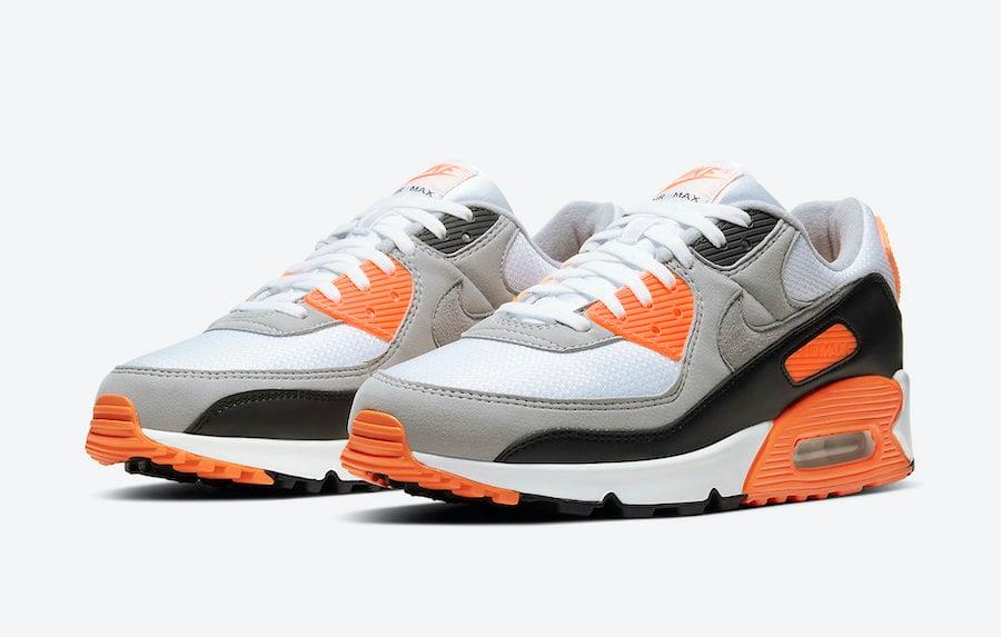 Nike Air Max 90 Total Orange CW5458-101 Release Date Info