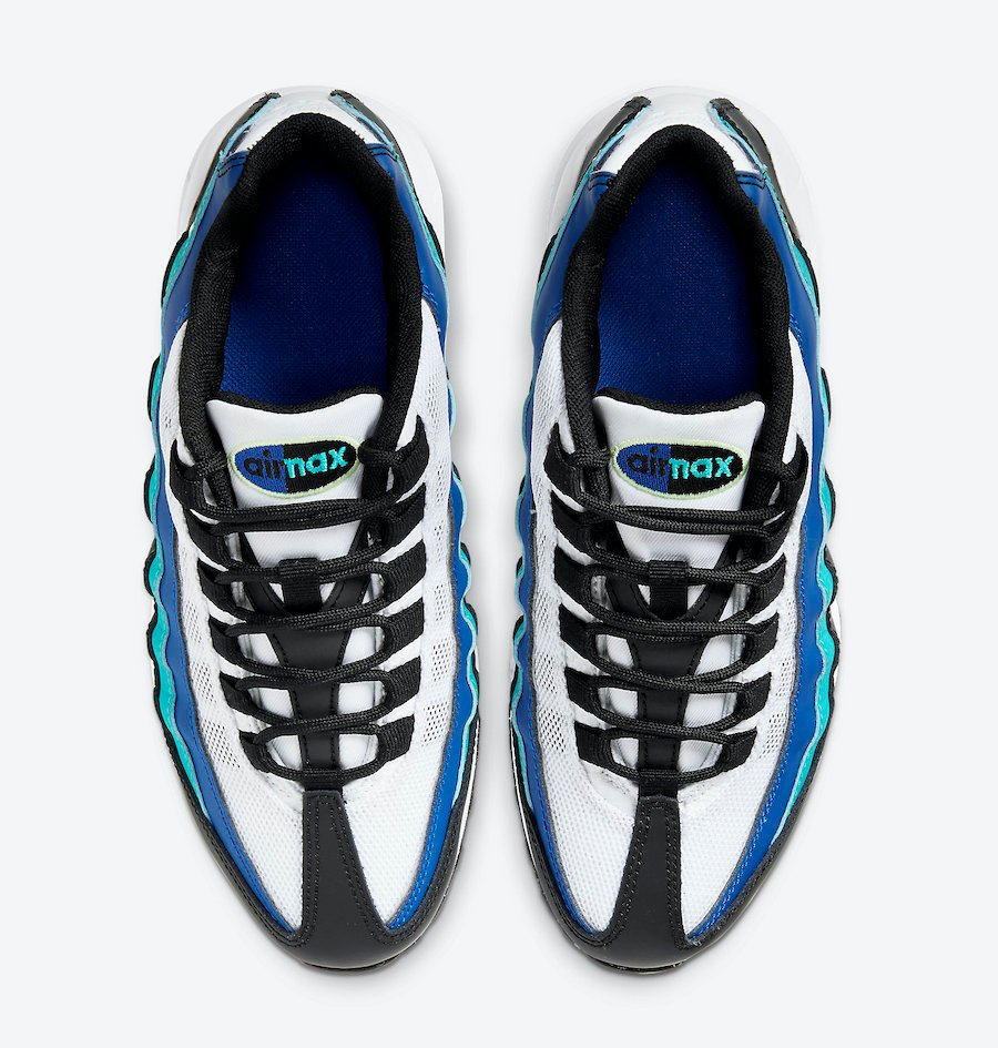 Nike Air Max 95 GS Oracle Aqua 905348-040 Release Date Info