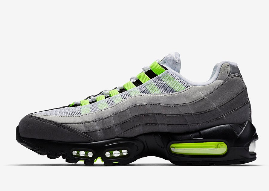 Nike Air Max 95 OG Neon 2020 CT1689-001 Release Date Info