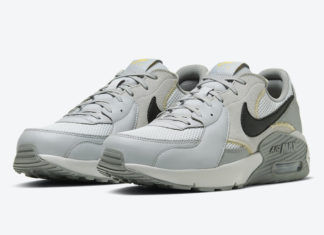 Nike Air Max Excee Grey Yellow CD4165-006 Release Date Info