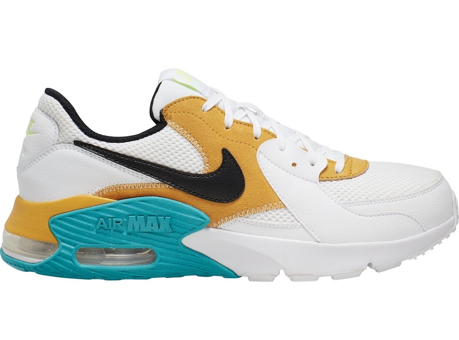 Nike Air Max Excee White Orange Green Blue CD4165-104 Release Date Info