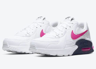 Nike Air Max Excee White Pink CZ7997-100 Release Date Info