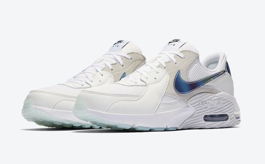 Nike Air Max Excee in Platinum Tint with Iridescent