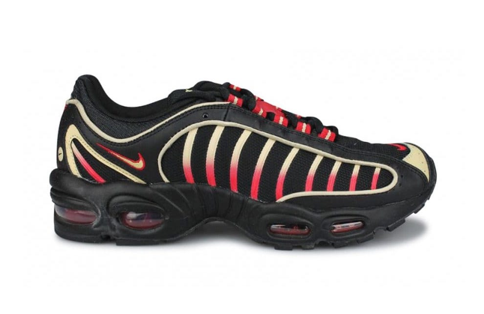 Nike Air Max Tailwind 4 IV Black Team Gold University Red CT1267-001 Release Date Info