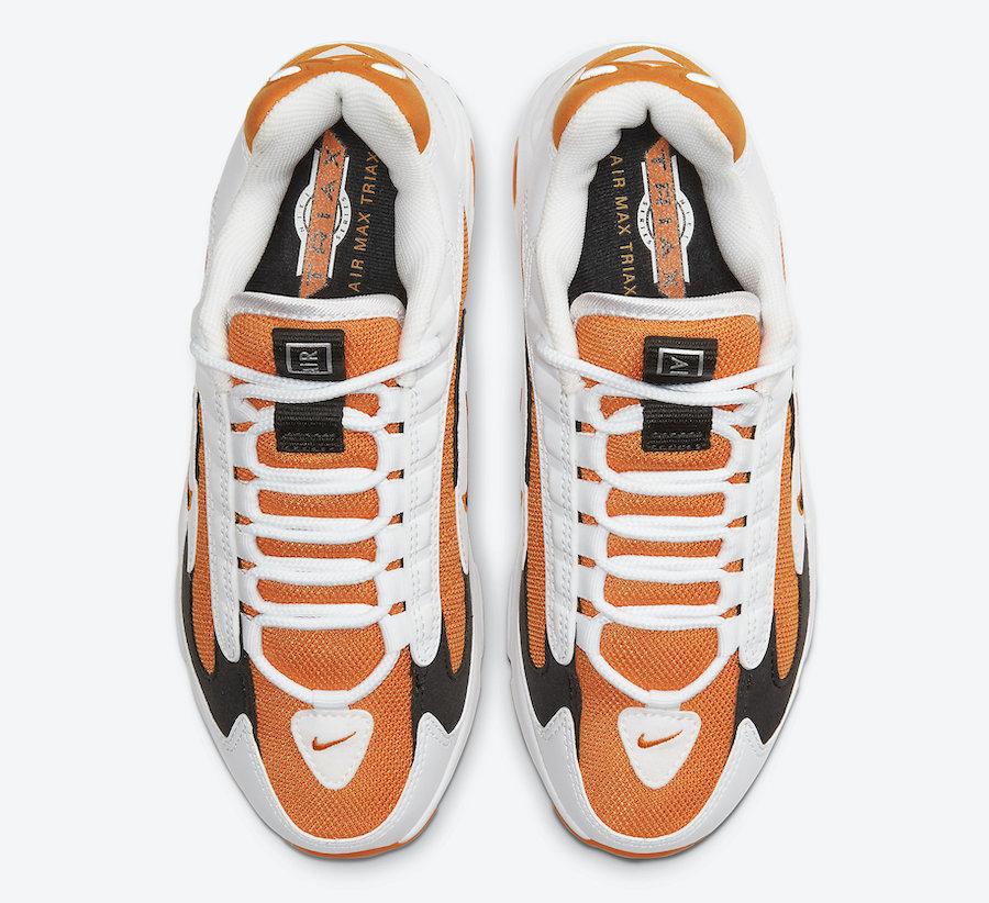 Nike Air Max Triax 96 Magma Orange CT1276-800 Release Date Info