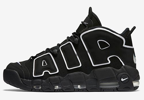 Nike Air More Uptempo OG Black White 2020 Release Date