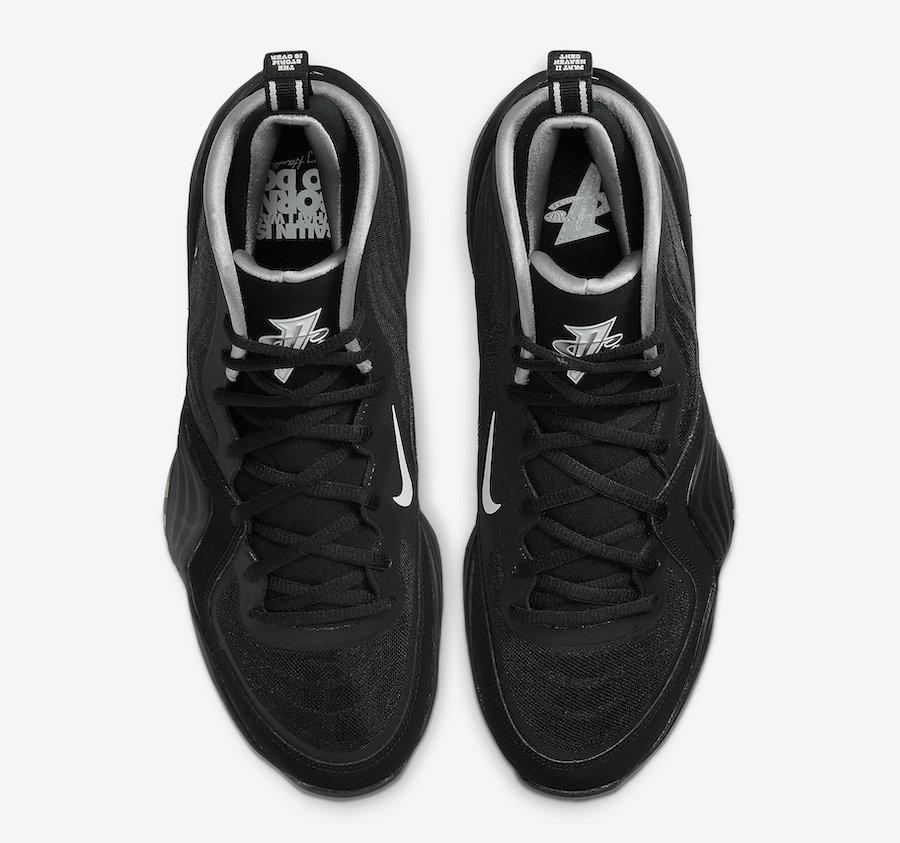 Nike Air Penny 5 Black Silver CZ8782-001 Release Date Info