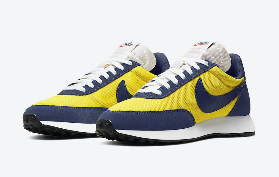 Nike Air Tailwind 79 Yellow Navy 487754-702 Release Date Info