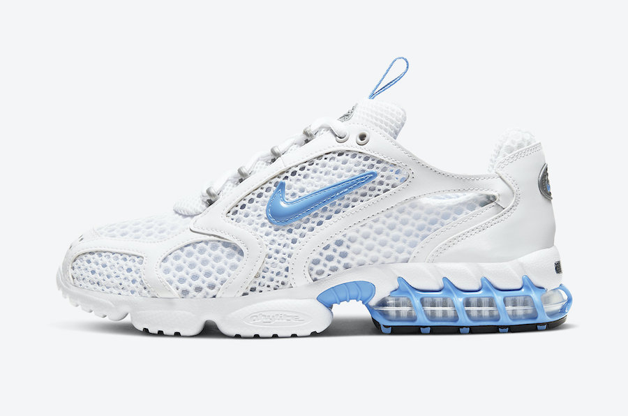 Nike Air Zoom Spiridon Cage 2 White University Blue CD3613-100 Release Date Info