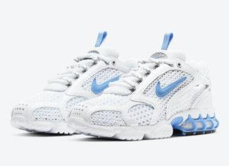 Nike Air Zoom Spiridon Cage 2 White University Blue CD3613-100 Release Date Info