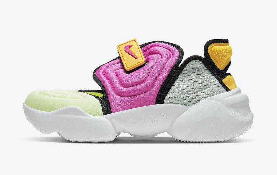 Nike Aqua Rift Volt Pink Orange Grey CW7164-700 Release Date Info