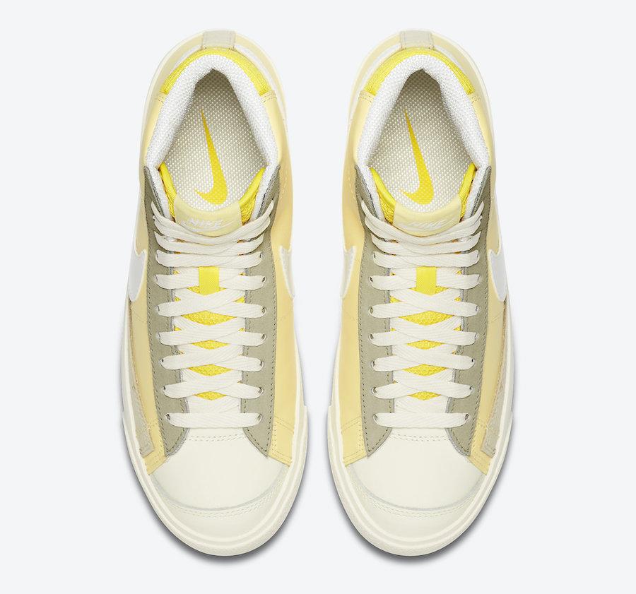 Nike Blazer Mid Bicycle Yellow Opti Yellow CZ0363-700 Release Date Info