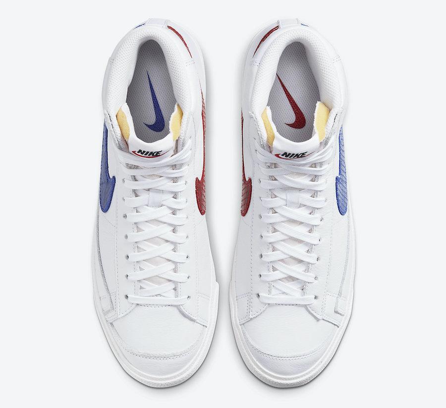 Nike Blazer Mid Snakeskin Swoosh CW7073-100 Release Date Info