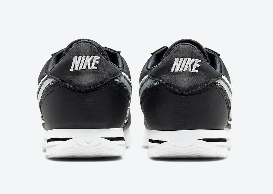 Nike Cortez Basic Premium Black Wolf Grey 844791-004 Release Date Info