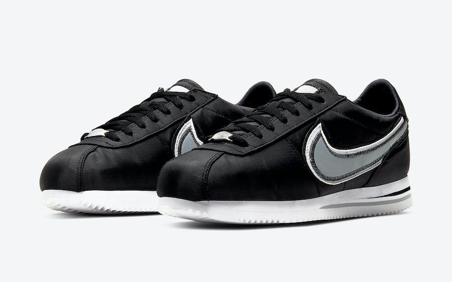 Nike Cortez Basic Premium Black Wolf