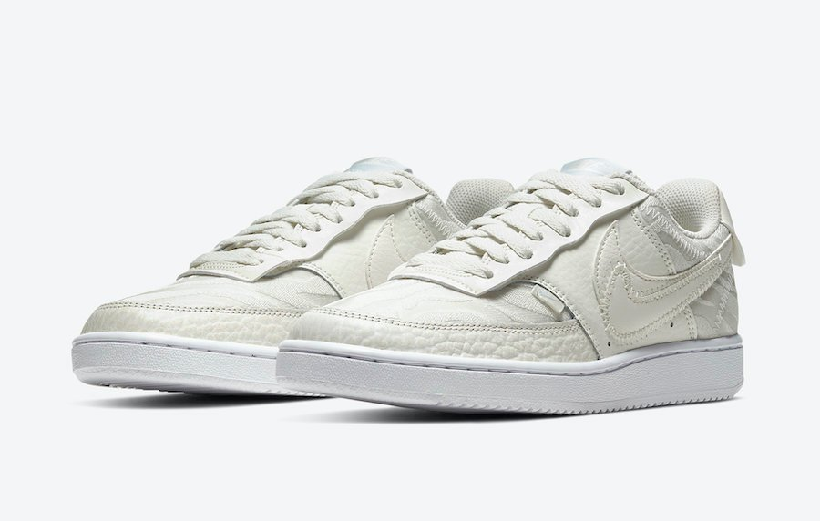 Nike Court Vision Low Premium Sail CI7599-100 Release Date Info
