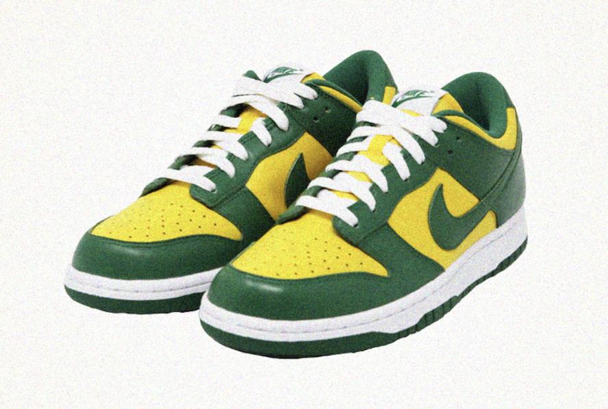 Nike Dunk Low Brazil CU1727-700
