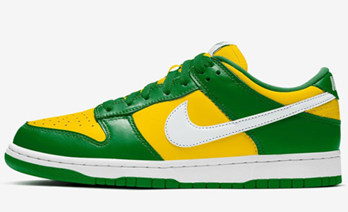 Nike Dunk Low Varsity Maize Pine Green White Release Date