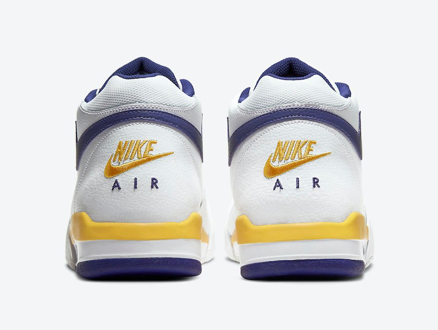 Nike Flight Legacy White University Gold Regency Purple BQ4212-102 Release Date Info