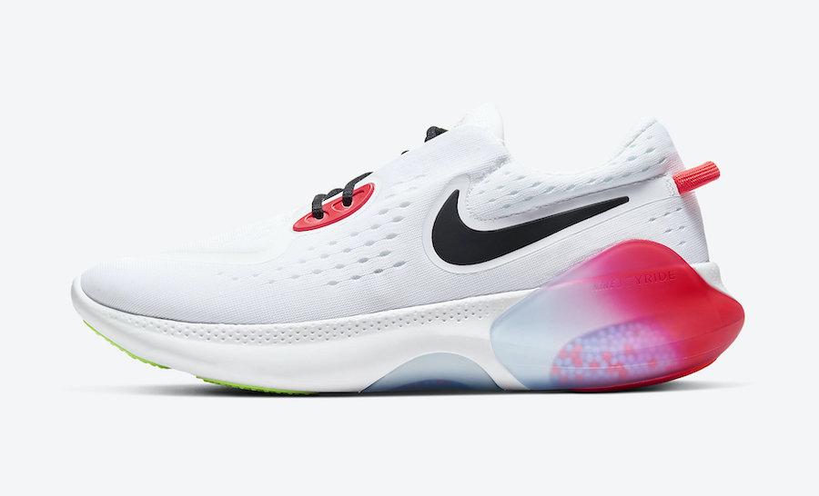 Nike Joyride Dual Run White Pink Foam Laser Crimson CW5634-100 Release Date Info