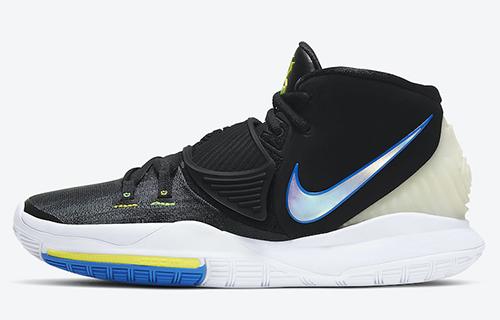Nike Kyrie 6 Black White Soar Dynamic Yellow Release Date