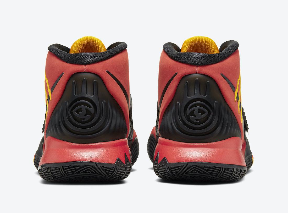 Nike Kyrie 6 Bruce Lee Comet Red CJ1290-600 Release Date