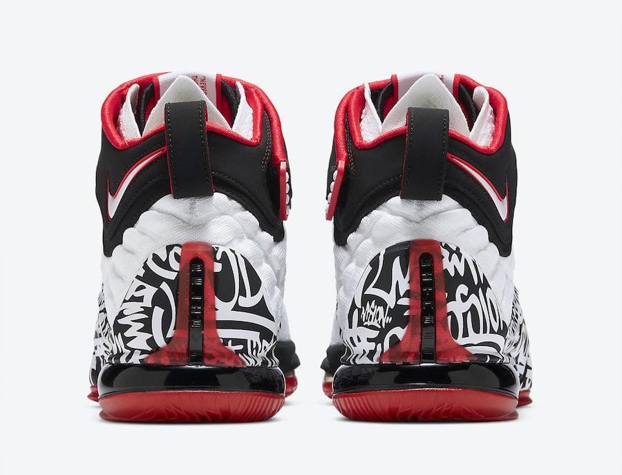 Nike LeBron 17 Graffiti CT6052-100 Release Info