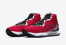 Nike LeBron 17 Uptempo BQ3177-601 Release Date