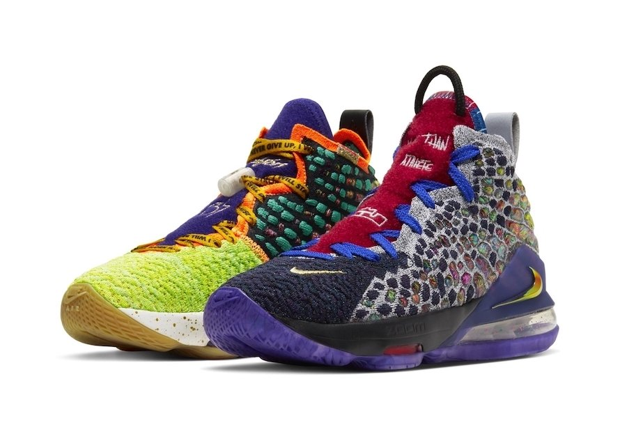 Nike LeBron 17 What The GS Grade School Release Date Info