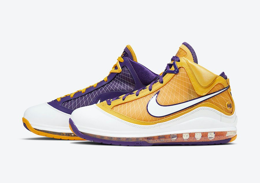 Nike LeBron 7 Lakers CW2300-500 Release Date