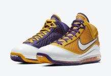 Nike LeBron 7 Lakers CW2300-500 Release Date