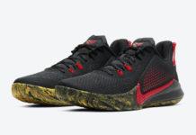 Nike Mamba Fury Black Red CK2087-002 Release Date Info