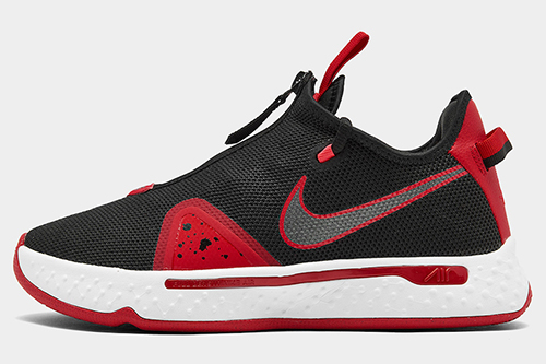 Nike PG 4 Bred Black University Red Release Date