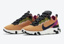 Nike React Element 55 Magma Orange CI3831-801 Release Date Info